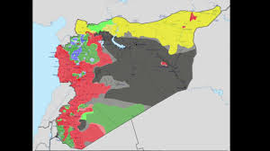 Syria Live Map by Syrian Civil War Update 2017 Youtube
