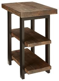 Rustic Side Table Alaterre End Table Industrial Side Tables And End Tables By