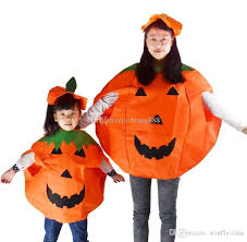 Tina Halloween Costume Children Paternity Pumpkin Clothing Halloween Costumes