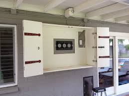 image result for outdoor tv wall mount cabinet outdoor tv