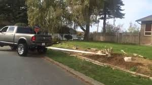 Dodge Ram 3500 Weight - 2012 lifted ram 3500 cummins pulling out a stump youtube