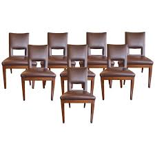 Black Wooden Chair Png Viyet Designer Furniture Seating Postmodern Leather And Wood