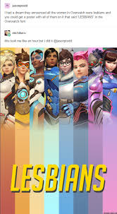 Funny Lesbian Memes - lesbians overwatch know your meme