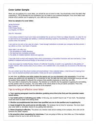 tips on writing a cover letter cover letter hospitality cover