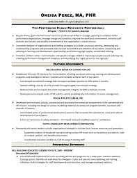 hr generalist resume objective samples pinterest sample entry