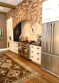 Kitchen Trends Modern Rustic Farmhouse Callier And Thompson - 45 best kitchen brick images on pinterest kitchen brick
