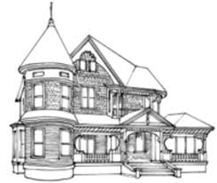 the queen anne victorian architecture and décor old house