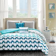 Light Blue Twin Comforter Shop Intelligent Design Finn Bed Linens The Home Decorating Company