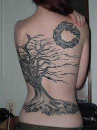 3d pretty tree tattoos picture for design idea