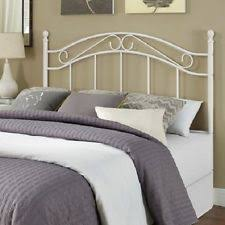 white metal full queen headboard traditional bedroom furniture