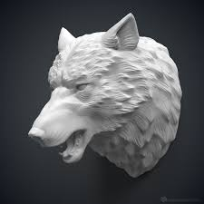 White Elephant Head Wall Mount Giant Sculpted Wolf Head Wall Mount Wall Mount Wolf And Walls