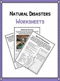 natural disaster worksheets facts u0026 historical information for kids
