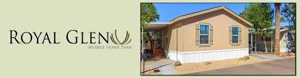 royal glen mobile home park housing glendale az