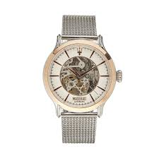 rose gold maserati car epoca watch steel rose gold watches