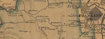 Map Of Franklin Tennessee by From Slaves To Soldiers And Beyond Williamson County