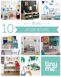 10 kids study nooks tinyme blog