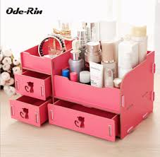 ode rin wooden storage box jewelry container makeup organizer case
