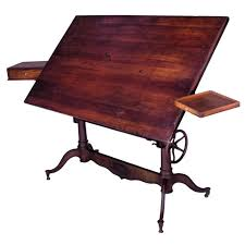 Antique Drafting Table Exceptional Antique Cast Iron Adjustable Drafting Table Writing