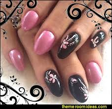 decorating theme bedrooms maries manor nail stickers black