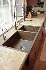 pros and cons of farmhouse sinks shocking farmers kitchen sink and new stainless pic for farmhouse
