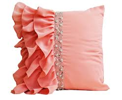 Cushion Covers For Sofa Pillows by Ruffle Sequins Cushion Cover Ruffles Pillows And Creative