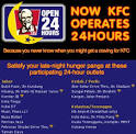 KFC Strikes Back With Breakfast Menu and 24 Hours Operation by ...