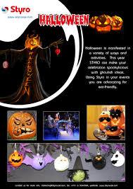 halloween polystyrene uae dubai qatar oman