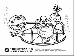 Surprising Octonauts Printable Coloring Pages With Octonaut Octonauts Coloring Pages