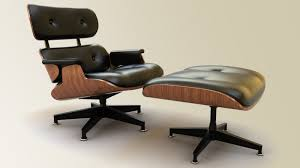 Eames Lounge Chair In Room Eames Lounge Chair By Mithrasz On Deviantart