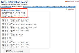 how to find the minimum connect times for an airport u2013 iflywithmiles