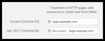 chrome keeps redirecting to https imminent non https sites labeled not secure by chrome