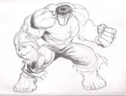 drawn hulk couple sketch pencil and in color drawn hulk couple