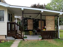 Privacy Walls For Patios by Diy Bamboo Privacy Screen Back Deck Decks And Adventure