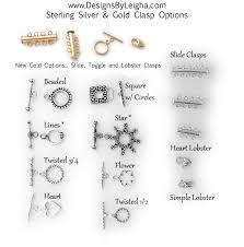 bracelet clasps styles images Clasp options for mother bracelets toggle lobster slide mother jpg