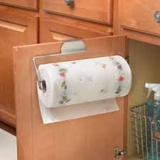 Kitchen Towel Racks For Cabinets Buy Paper Towel Holder In Cabinet From Bed Bath U0026 Beyond