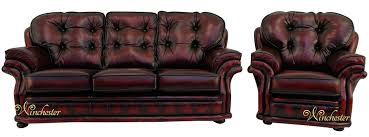 Chesterfield Sofa Suite Chesterfield Knightsbridge 3 1 Seater Settee Traditional Sofa