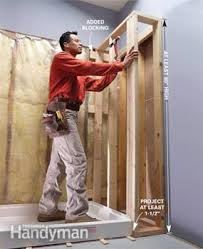 How To Plumb An Outdoor Shower - how to fit a shower tray family handyman