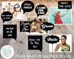 buy photo booth wedding photo booth props printable speech bubbles black