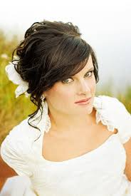 bridal wedding hairstyle for long hair hair and make up by steph how to incorporate your bangs into your