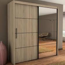 Cermin Brown almari stylish elegan kaca cermin akram furniture