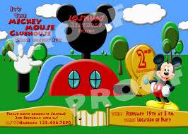 Mickey Mouse Birthday Invitation Cards Mickey Mouse Birthday Invitations Templates Eysachsephoto Com
