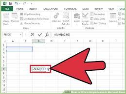 tutorial visual basic excel bahasa indonesia the best way to write a macro in excel wikihow