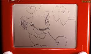 trending watch the lion king recreated on an etch a sketch
