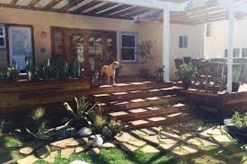 backyard construction services and pool services la decks