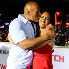 dwayne johnson and his daughter simone u0027s cutest pictures