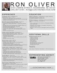 Resume For Video Production Resume For Football Coach Resume For Your Job Application
