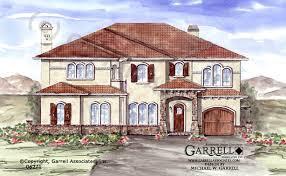 Southwest Style Home Plans Casa Asoleada House Plan House Plans By Garrell Associates Inc