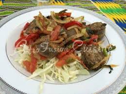 afro fusion cuisine sauteed of afro fusion cuisine merguez sausage