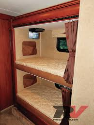 Camper Bunk Bed Sheets by Camping Trailers With Twin Beds With Amazing Minimalist In Spain