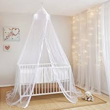 baldacchino per lettino mosquito nets 4 u bianco baby baldacchino zanzariera per